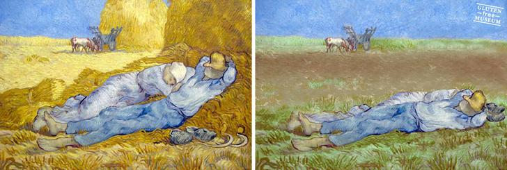 Фото №9 - Знаменитые картины без глютена! Совершенно безвредны! Теперь ты можешь их съесть!