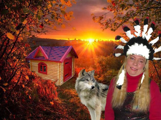 Фото №8 - Богиня Фотошопа: женщина поразила пользователей Facebook  своими фотографиями
