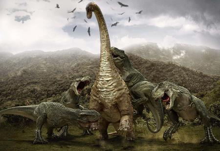 Жуть Юрского периода: 10 самых опасных динозавров