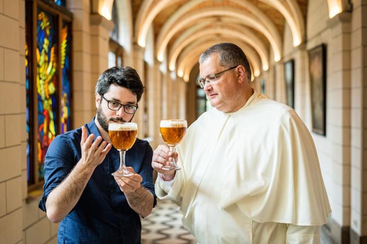 Фото №2 - Аббатство Гримберген возрождает традицию средневекового пивоварения