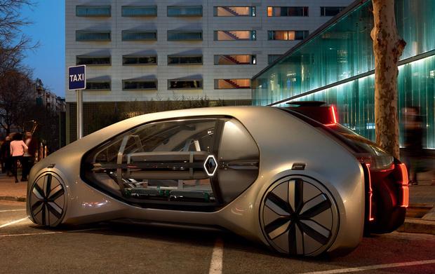 Фото №2 - Renault EZ-GO: это тебе не марштурка!