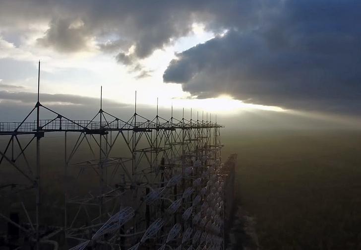 Фото №7 - Вид с воздуха на легендарную чернобыльскую «Дугу», и что это вообще такое