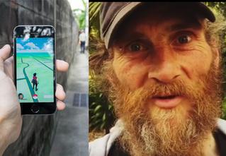 Художник делает из бездомных «живых покемонов», вставляя в них чипы