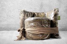 Мебель из сена