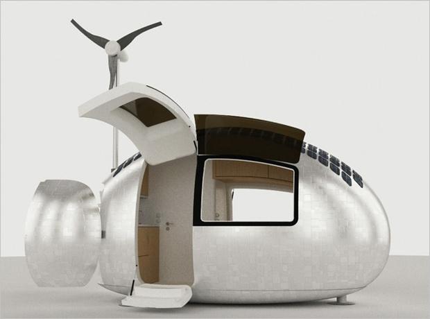 Мобильный дом  Ecocapsule