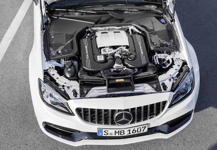 Фото №2 - Выход силы. Mercedes-AMG C 63 S