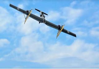 На Западе набирает популярность видео новой российской разработки «летающего автомата Калашникова»