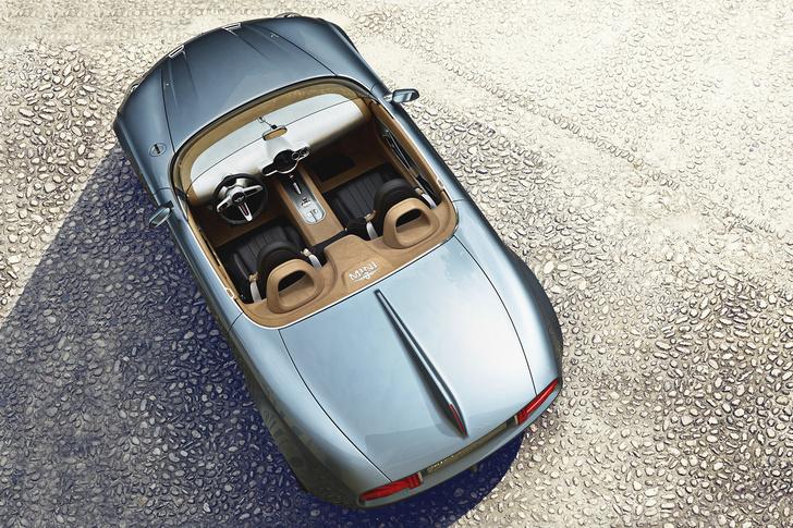 Фото №2 - Родстер Mini Superleggera Vision — не исключено, что Джеймс Бонд уже оформил предзаказ