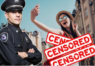 Китайскую блогершу арестовали за «одежду, оскверняющую патриотические чувства»