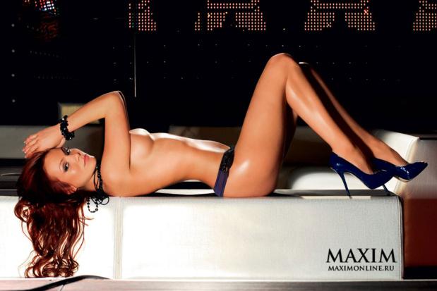 София Тайх для Maxim