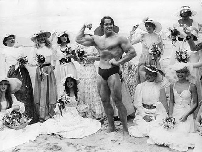 Фото №18 - 20 редких фотографии Арнольда Шварценеггера— смотрим в его день рождения