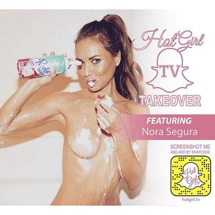 Watch my #Takeover for Snapchat HotGirl.TV Screenshot to add