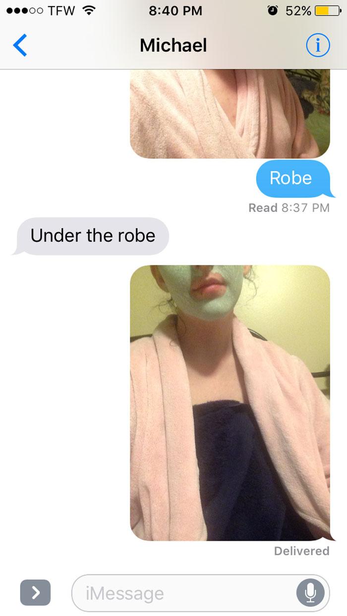 Фото №7 - Парень попросил девушку прислать фото, где она голая, и вскоре пожалел об этом
