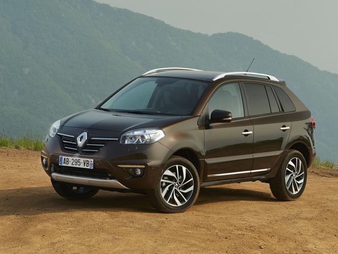 Renault Koleos для России засветился до премьеры
