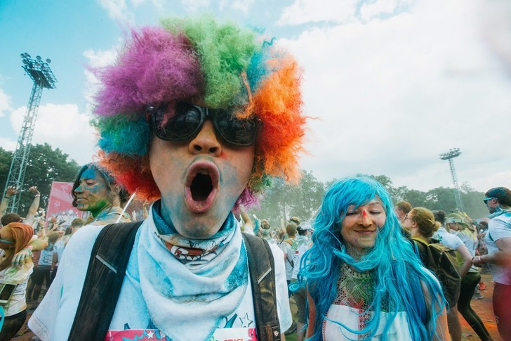 Фото №1 - COLORS DE BENETTON собирает всех на Красочный забег