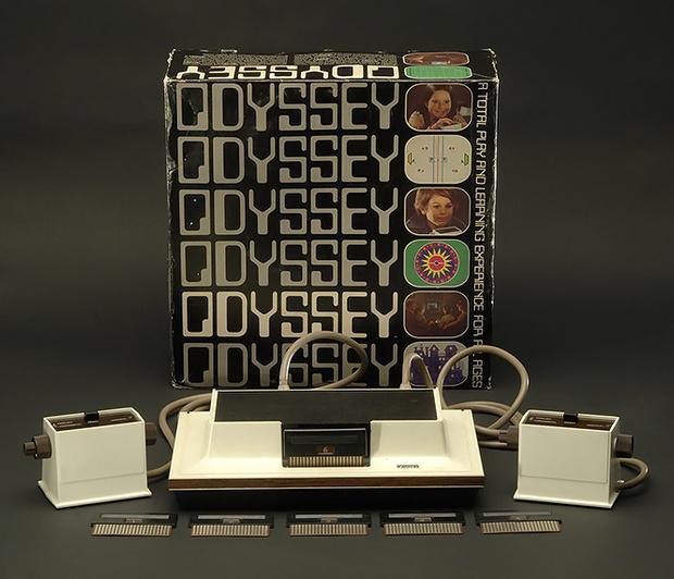 Фото №3 - Как выглядела и работала первая игровая консоль (видео и фотографии)