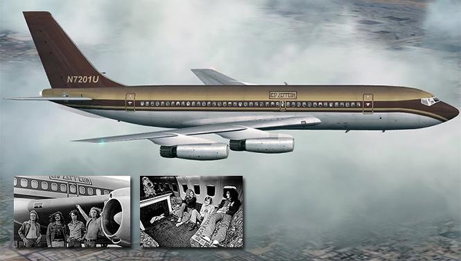 Фото №2 - 25 самолетов и автобусов рок-звезд