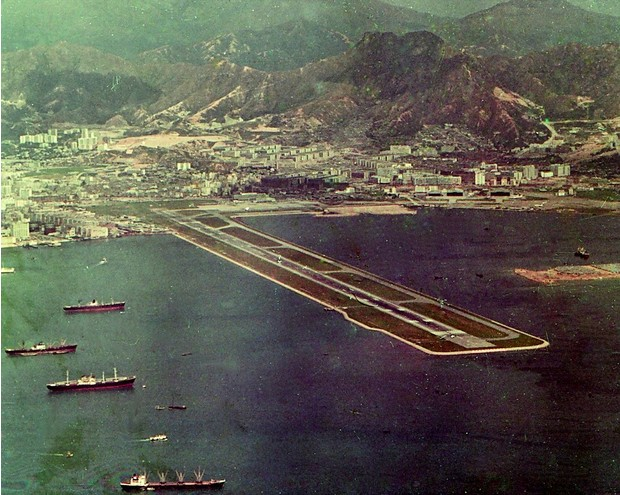 Фото №2 - История Кайтака— самого опасного аэропорта в мире