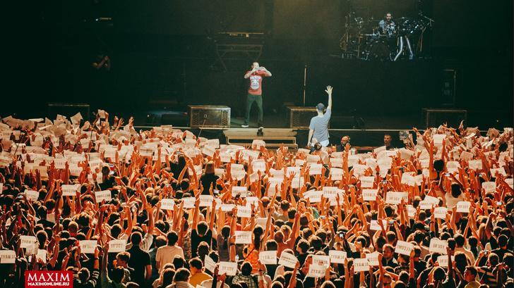 Фото №32 - Вопли рока. Что творилось на концерте Linkin Park