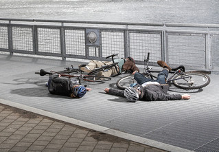 Вредно ли ездить на велосипеде по городу?