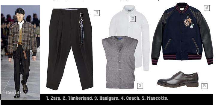 Фото №1 - Как носить широкие брюки этой осенью. Гид по самому важному предмету мужского гардероба