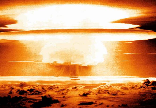 самые красивые ядерные взрывы видео