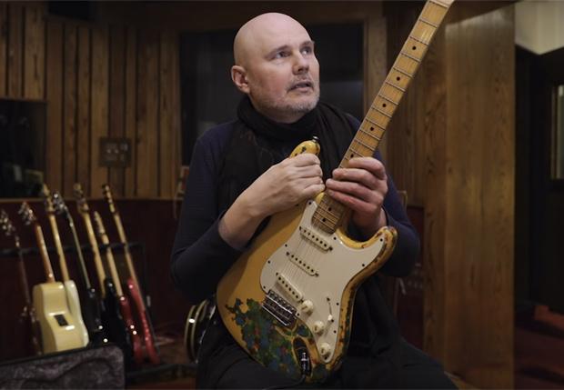 Фото №1 - Рок-н-ролльное невероятное: группе Smashing Pumpkins вернули гитару, украденную 27 лет назад