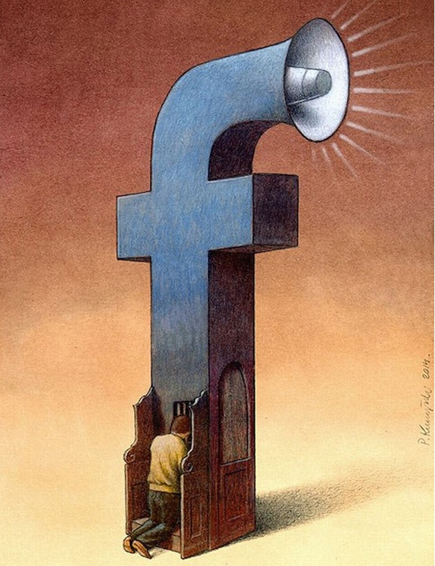 Фото №8 - Вся правда о «Фейсбуке» от карикатуриста Павла Кучински