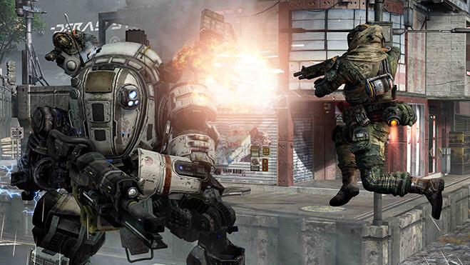 Фото №1 - Titanfall: лучшая игра про боевых роботов и паркур