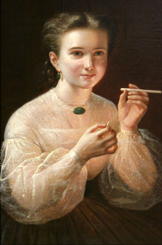 Фото №3 - 8 классических картин с курильщиками, которые пока еще чудом не запретил Минздрав