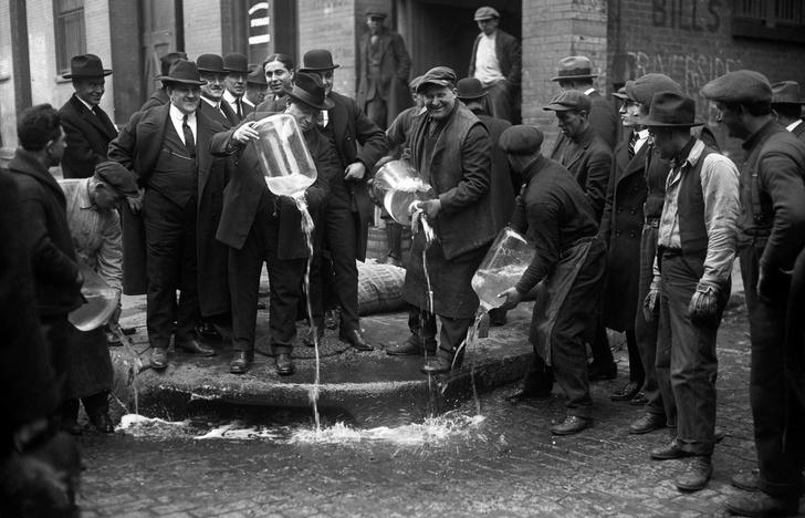 Фото №12 - Жутчайшие фотографии уничтожения алкоголя!