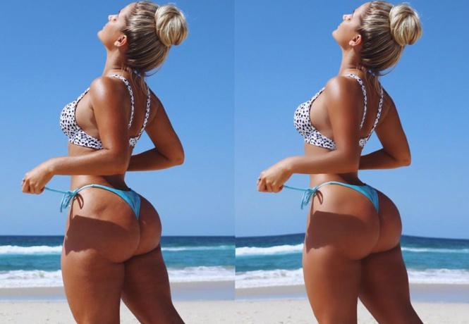тест внимательность модель показала снимок бикини фотошопа найди