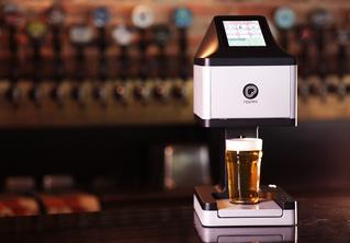 Важное изобретение: принтер для печати пивной пеной