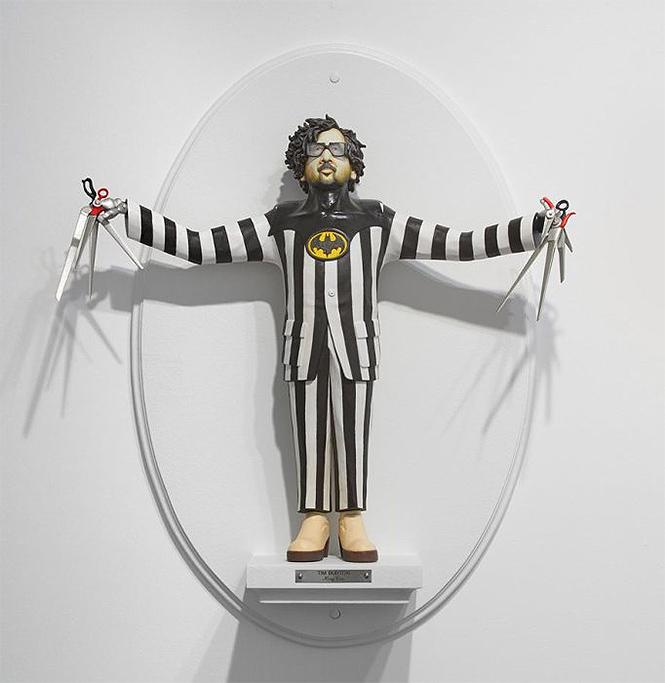 Фото №13 - Скульптор создает диковатые статуэтки знаменитых кинорежиссёров