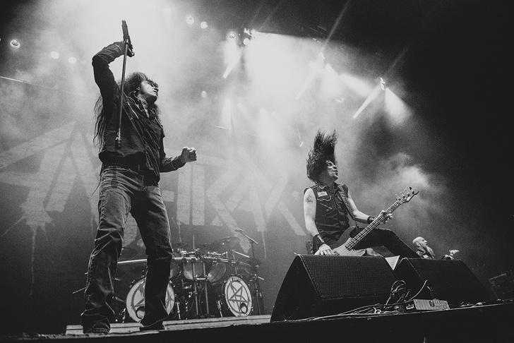 Фото №15 - Как разверзался ад на концерте трэш-металлистов Slayer и Anthrax
