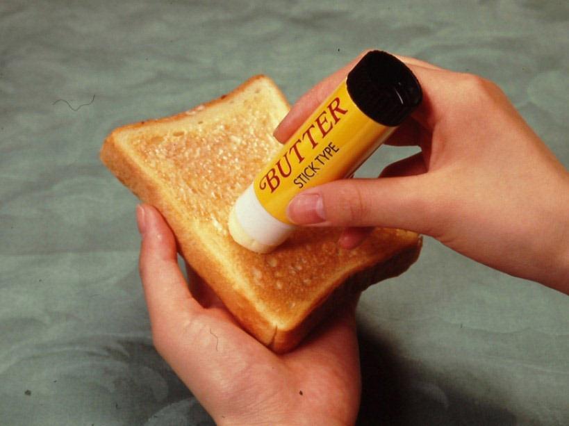 Масло-карандаш для намазывания на тосты