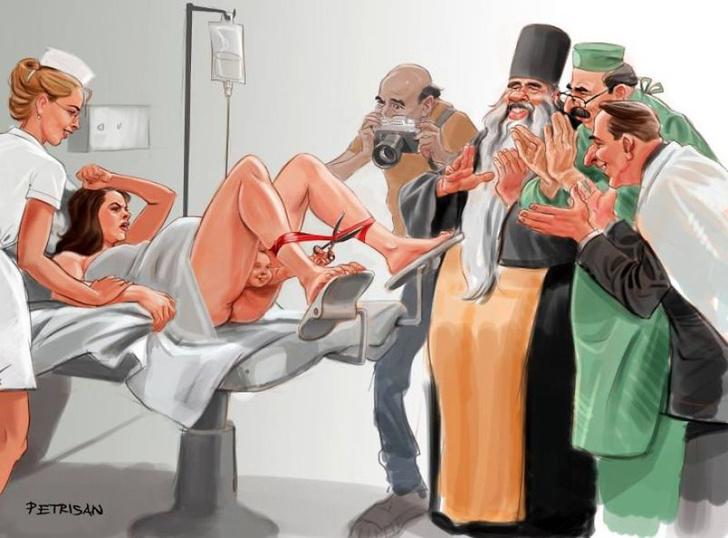 Фото №1 - Злободневные и смешные иллюстрации румынского дуэта художников