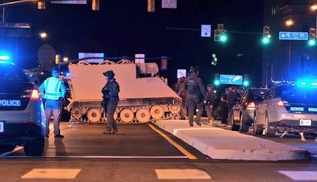 Фото №2 - Американский солдат угнал БТР и два часа играл в догонялки с полицией (ВИДЕО)