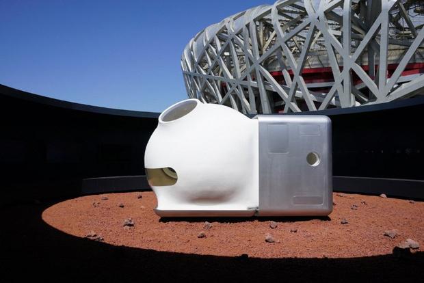 Фото №1 - Xiaomi разработала прототип марсианской лачуги (галерея)