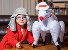 Мать купила 5-летнему сыну надувную овцу, а она оказалась из магазина для взрослых