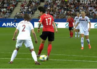 Пожалуй, самый изящный голевой пас ЧМ-2019 по футболу среди женщин  (видео)