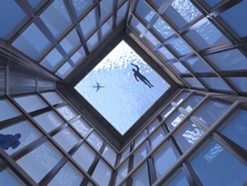 Фото №3 - Интернет озадачен бассейном на крыше, из которого невозможно вылезти