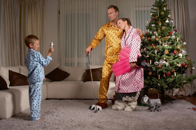 Фото №1 - 5 советов, как быть отцом ребенка во время новогодних праздников
