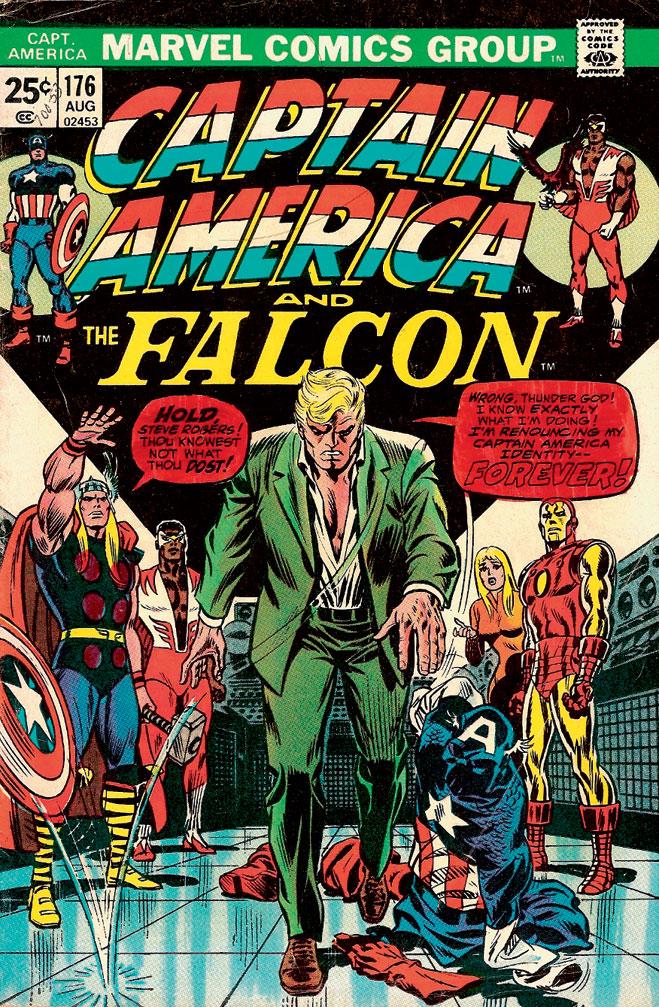 Капитан Америка разочаровывается в жизни
