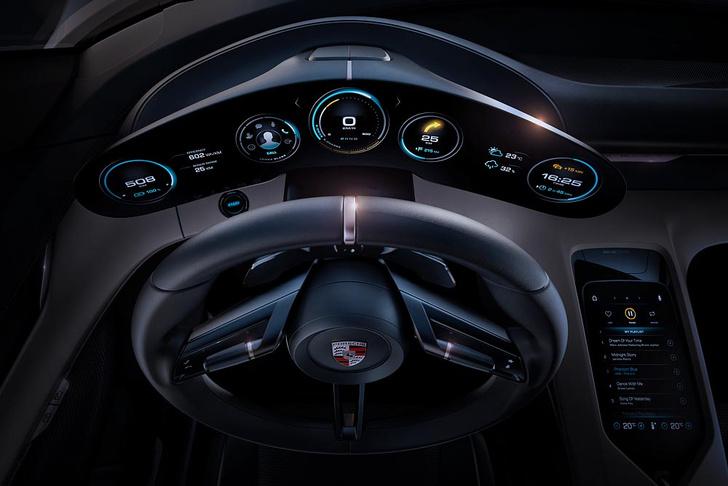 Фото №4 - Как будет выглядеть электрокар от Porsche? А вот так!