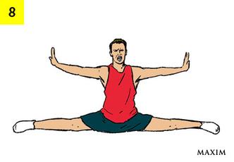 Фото №9 - Как сесть на шпагат: 8 простых шагов