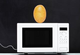 Как сделать чипсы в микроволновке