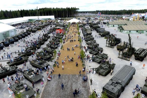 Фото №1 - Биатлон для танков пройдет в Подмосковье