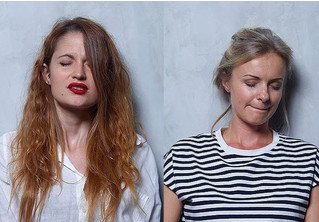 Фотограф снял лица женщин до, в момент и сразу после оргазма