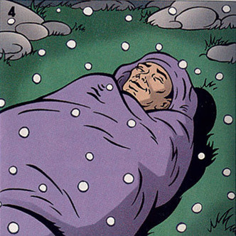 Фото №5 - Как спать на снегу